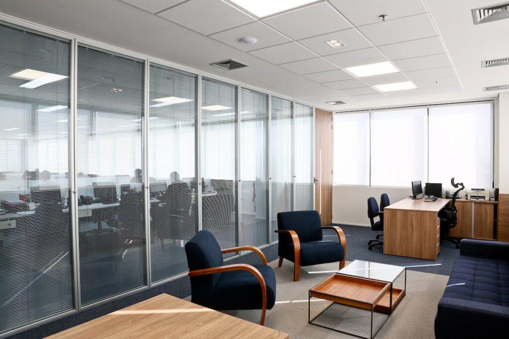 Projetos de escritórios modernos - Advocacia